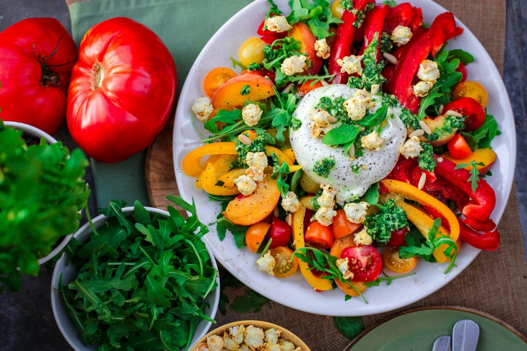 lose belly fat by eating a healthy diet